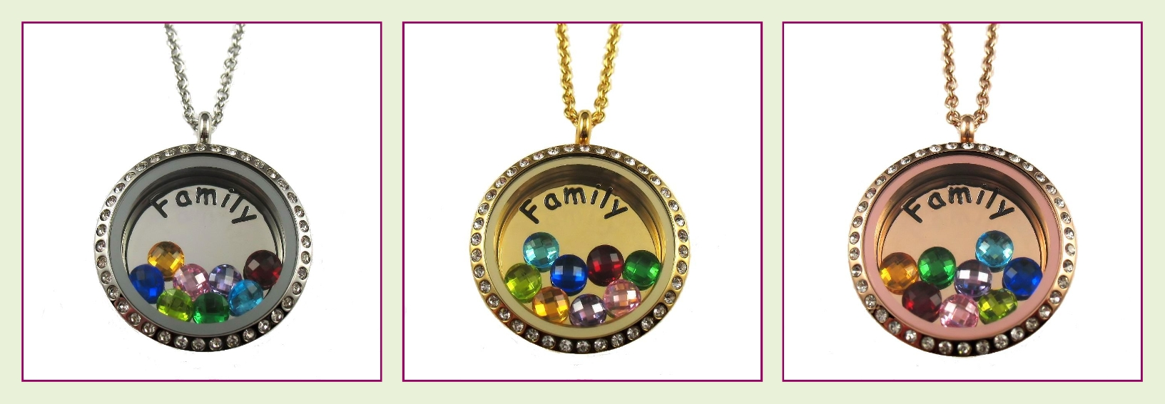 cardinals locket season football charm lockets product collection floating il fullxfull arizona style clear